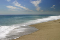 A costa Fotografia de Stock