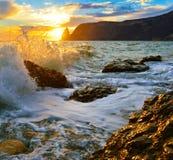 Costa Fotografia de Stock Royalty Free