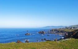 Costa 9 de Califórnia Foto de Stock Royalty Free