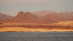Costa abandonada da peninsula do Sinai vídeos de arquivo