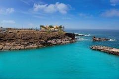 Costa Adeje Strand Playa Paraiso in Teneriffa Lizenzfreie Stockbilder