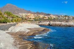Costa Adeje Tenerife Canarische Eilanden Stock Afbeeldingen