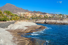 Costa Adeje. Tenerife. Canary Islands Stock Images