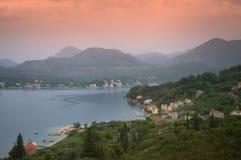 Costa adriático pitoresca, Croácia foto de stock royalty free