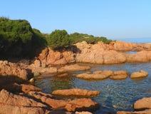 Costa alla Sardegna Immagine Stock