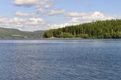 A costa alta (Suécia) Fotografia de Stock Royalty Free