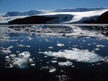 Costa antártica Foto de archivo