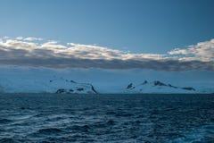 Costa antártica Imagenes de archivo