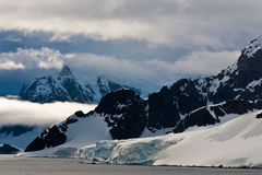 Costa antartica Immagine Stock