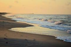 Costa atlántica Foto de archivo libre de regalías
