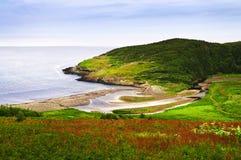 Costa atlántica en Terranova Fotografía de archivo