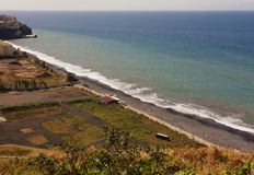 Costa atlántica - isla Madeira imagen de archivo
