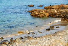 Costa atlântica foto de stock
