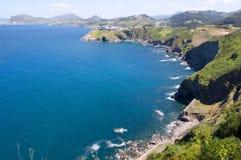 Costa atlântica, Fotos de Stock Royalty Free