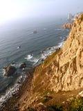 Costa atlântica de Portugal Fotos de Stock