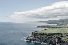Costa azoreno Foto de archivo libre de regalías