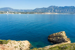 Costa Blanca bay Royalty Free Stock Photos