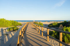 Costa Blanca Beach Royalty Free Stock Images