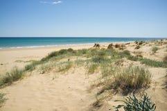 Costa Blanca beach Royalty Free Stock Photo