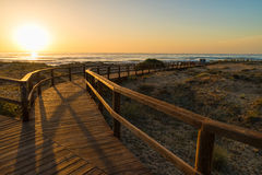 Costa Blanca beach Stock Images