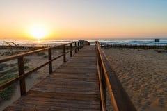 Costa Blanca beach Stock Photography