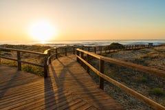 Costa Blanca beach Stock Image