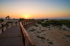 Costa Blanca beach Stock Photos