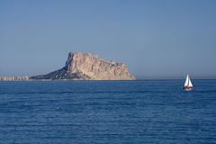 Costa Blanca coast Royalty Free Stock Images