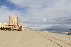 Costa Blanca, España Imagenes de archivo