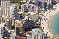 Costa-BLANCA-Gebäude Stockfotos