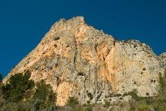 Costa Blanca mountain world Royalty Free Stock Image