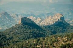 Costa Blanca mountain world Stock Photography