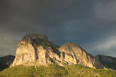 Costa Blanca mountains Stock Image