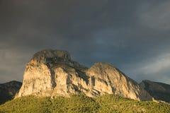 Costa Blanca mountains Stock Image