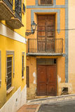Costa Blanca old town Stock Image