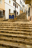 Costa Blanca old town Stock Photography