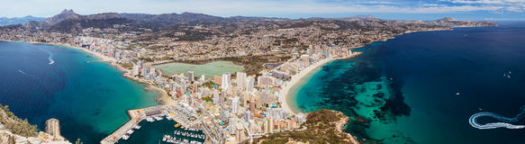 Costa Blanca Panorama Royalty Free Stock Images