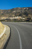 Costa Blanca road Stock Photos
