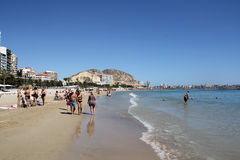 Costa Blanca, Spain Royalty Free Stock Photo