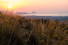 Costa Blanca sunrise Royalty Free Stock Photos