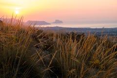 Costa Blanca sunrise Royalty Free Stock Photos