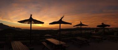 Costa Blanca Sunrise Stock Image