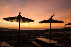 Costa Blanca Sunrise Royalty Free Stock Images