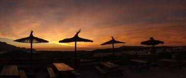 Costa Blanca Sunrise Royalty Free Stock Photography