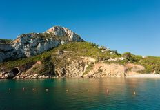 Costa Blanca waters Stock Photography