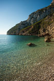 Costa Blanca waters Javea Royalty Free Stock Images
