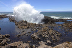 Costa boa de Oregon do Thor. fotografia de stock royalty free