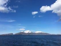 A costa bonita de Helgeland no condado de Nordland, Noruega Imagem de Stock Royalty Free