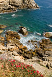 Costa Brava. Typical Costa Brava landscape  in Spain Stock Images