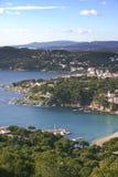 Costa Brava Imagen de archivo libre de regalías
